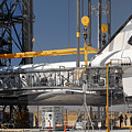 Space Shuttle Discovery At Edwards Afb September 17 2009 by Brian Lockett
