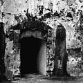 Spanish Fort Doorway by Perry Webster
