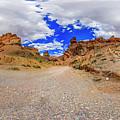 Spherical Panorama From A Canyon Charyn by Yuliya Pravdyuk