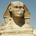 Sphinx At Gisa, Egypt by David Henderson