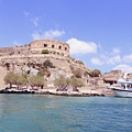 Spinalonga Greece by Lilach Weiss