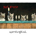 Squirrel's Night Out... by Will Bullas