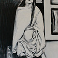Sri Anandamayi Ma by Alexander Carletti