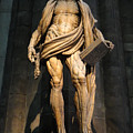 St. Bartholomew In Milan Cathedral By Marco D'agrate by Gregory Dyer