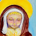 St. Clare Of Assisi by Susan  Clark
