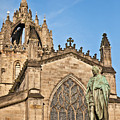St Giles Cathedral  Edinburgh by Liz Leyden