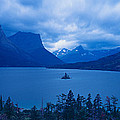 St. Mary Lake, Glacier National Park by Panoramic Images