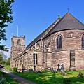 St Mary's Church - Tutbury by Rod Johnson