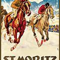 St. Moritz by Hugo Laubi