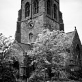 St Nicholas Church Including Graveyard Containing Grave Of Mildred Washington Grandmother Of George  by Joe Fox