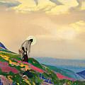 St. Panteleimon The Healer by Nicholas Roerich