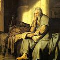 St. Paul In Prison by Rembrandt van Rijn