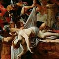 St Sebastian Thrown Into The Cloaca Maxima by Mountain Dreams