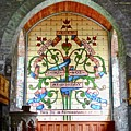 Stained Glass Window by Stephanie Moore