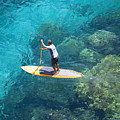 Stand Up Paddling by Ron Dahlquist - Printscapes