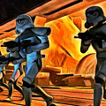 Star Wars Invasion by Leonardo Digenio