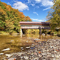 State Road Covered Bridge by Marcia Colelli