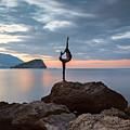 Statue In Budva Montenegro by Sophie McAulay