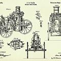Steam Fire Engine-1896 by Pablo Romero