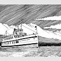 Steamship Virginia V by Jack Pumphrey