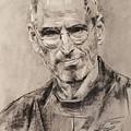 Steve Jobs by Ylli Haruni