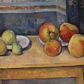 Still Life With Apples And Pears by Paul Czanne