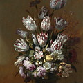 Still Life With Flowers by Hans Bollongier