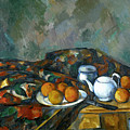 Still Life With Teapot by Paul Cezanne