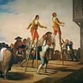 Stilts by Francisco Goya