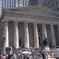 Stock Exchange On Wall Street by Carl Purcell