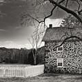 Stone Farmhouse by Mick Burkey