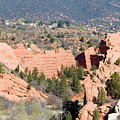 Stone Quarry At Red Rock Canyon Open Space Park by Steve Krull