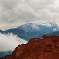 Storm Brewing At Garden Of The Gods by Steve Krull