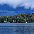 Storm Clouds Over The Lake Of Bays by Oleksiy Maksymenko