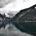 Storm In The Fiord by David Resnikoff