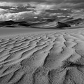 Storm Over Sand Dunes by TM Schultze