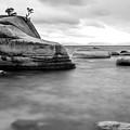 Stormy Bonsai Rock by Alex Baker