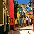 Street Of Color Guanajuato 2 by Mexicolors Art Photography