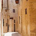 Street Sceane Mdina,malta by Philip Enticknap