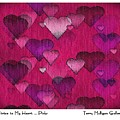 Striae To My Heart ... Pinks by Terry Mulligan