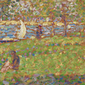 Study For La Grande Jatte by Georges Seurat
