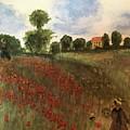 Study Of Monet by Bud Waterman