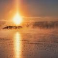 Sun Pillar by Anita Raunio