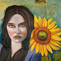 Sunflower by Leah Saulnier The Painting Maniac