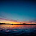 Sunrise Above Lake Water Summer Time Latvia Ezera Skanas by Raimond Klavins