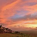 Sunrise At Tagaytay Highland by Yinguo Huang
