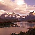 Sunrise In Torres Del Paine by Michele Burgess