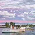 Sunrise On Boothbay Harbor by Darylann Leonard Photography