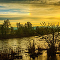 Sunrise On The Payette River by Robert Bales
