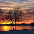Sunrise Winnipesaukee by Stephen Anthony